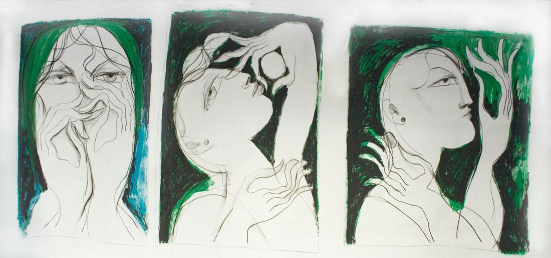 saad ali artist drawings color tecnica mixta color 00