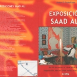 saad ali artist painter pintor cover catalogue 08