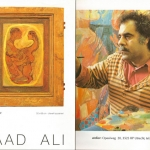 saad ali artist painter pintor cover catalogue 12