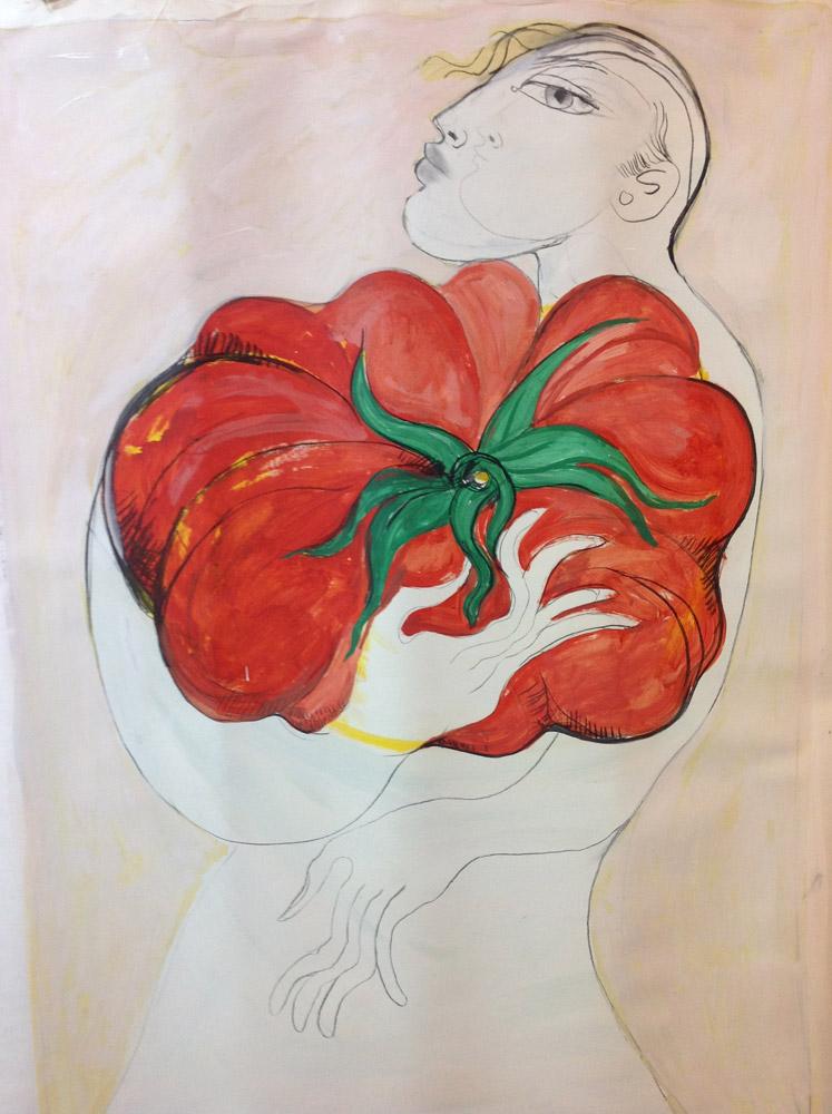 saad-ali-tomate-rojo